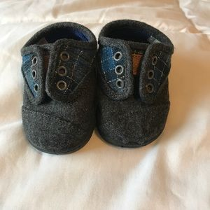 Cute baby boy Toms shoes